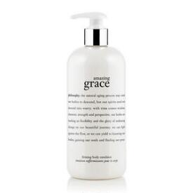 philosophy amazing grace firming body emulsion creams
