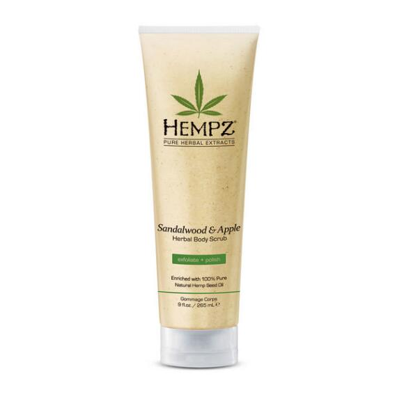 Hempz Sandalwood & Apple Body Scrub