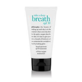 philosophy take a deep breath moisturizer SPF 30