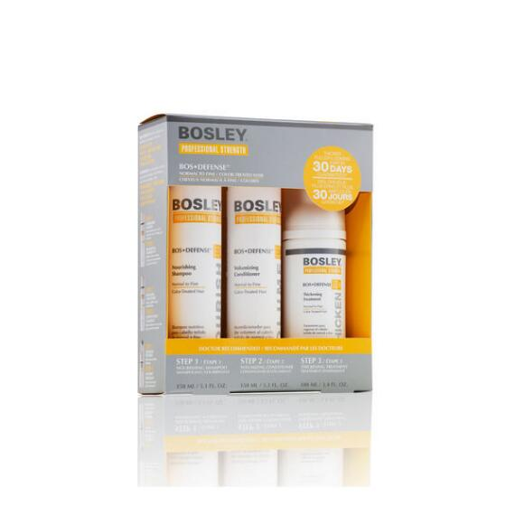 Bosley Professional Strength BosDefense Starter Kit for Color-Treated Hair