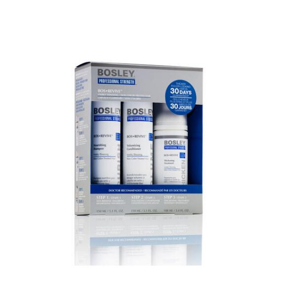 Bosley Professional Strength BosRevive Starter Kit for Non Color-Treated Hair