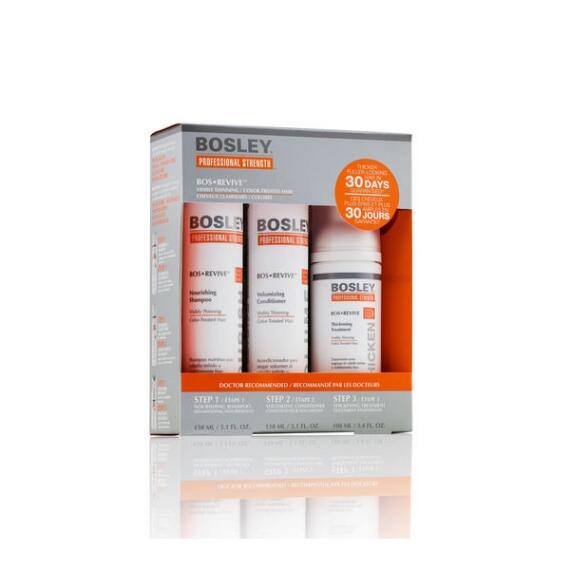 Bosley Professional Strength BosRevive Starter Kit for Color-Treated Hair
