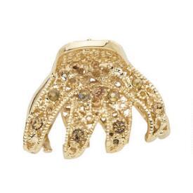 Victoria's European Mini Gold Jewel Claw