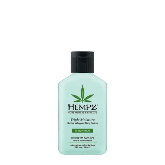 Hempz Triple Moisture Herbal Whipped Body Creme Travel Size
