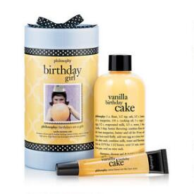 philosophy birthday girl sets, bath and body sets