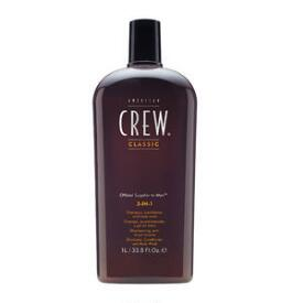 Top American Crew 3-in-1 Shampoo & Best Hair Conditioners