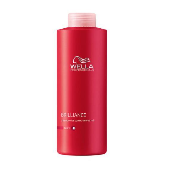 Wella Brilliance Shampoo for Coarse, Colored Hair
