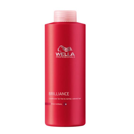 Wella Brilliance Conditioner for Fine to Normal Colored Hair