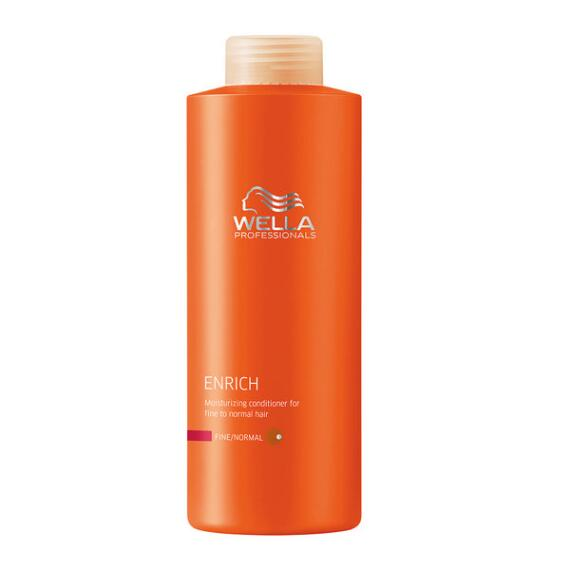Wella Enrich Moisturizing Conditioner for Fine to Normal Hair