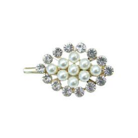 Victoria's European Pearl and Stone Clip