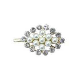 Victoria's European Pearl and Stone Clip