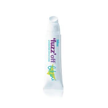 bliss 'fuzz' off bikini hair removal cream