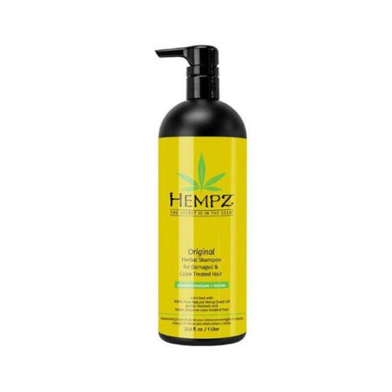 Hempz Original Herbal Shampoo For Damaged & Color Treated Hair