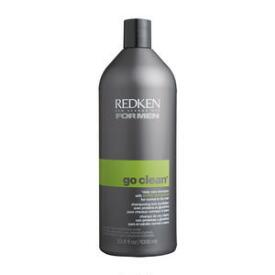 Redken For Men Go Clean Daily Care Shampoo & Men's Redken Professional Shampoo