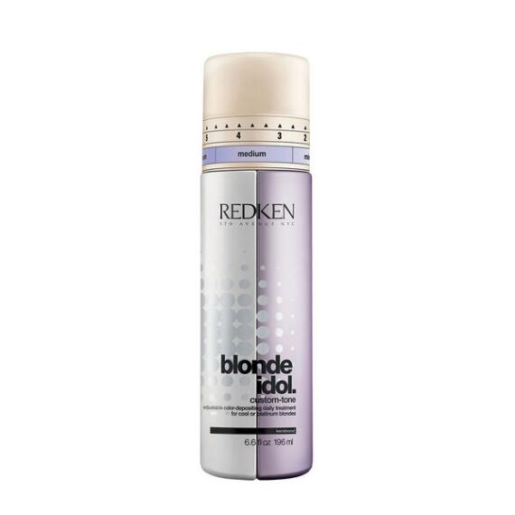 Redken Blonde Idol Custom-Tone Conditioner Violet for Cool Blondes