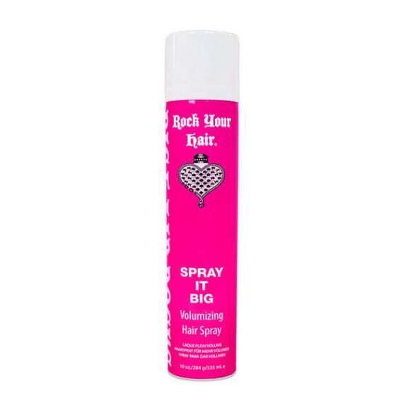 Rock Your Hair Spray It Big