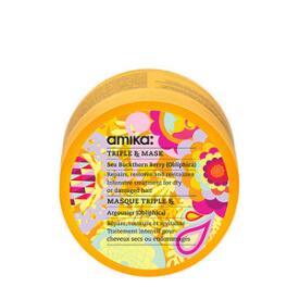 amika Triple Rx Mask & Deep Hair Treatment