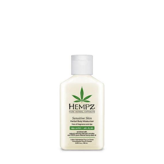 Hempz Sensitive Skin Herbal Body Moisturizer Travel Size