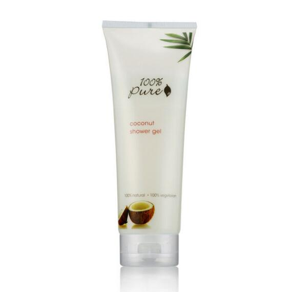 100% Pure Organic Coconut Shower Gel