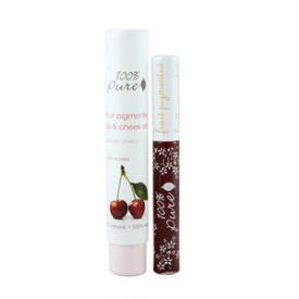 100% Pure Cherry Lip and Cheek Stain