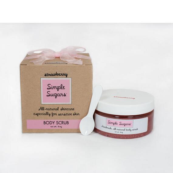 Simple Sugars Strawberry Body Scrub