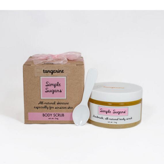 Simple Sugars Tangerine Body Scrub