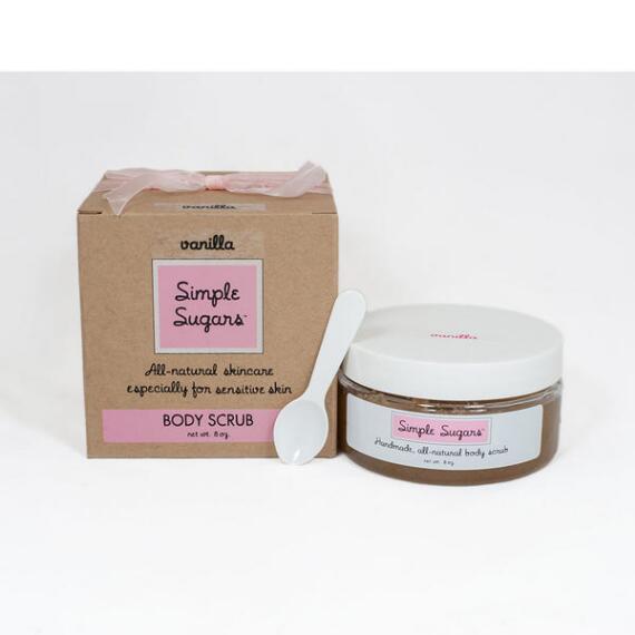 Simple Sugars Vanilla Body Scrub