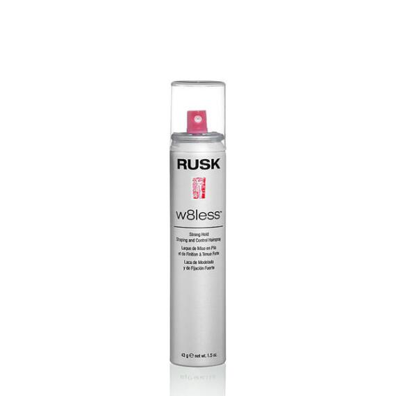 RUSK Designer Collection W8Less Strong Hold Shaping And Control Hairspray Travel Size