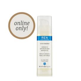 REN Clean Skincare Omega 3 Optimum Skin Serum