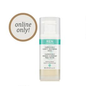 REN Clean Skincare Acne Treatment Mask