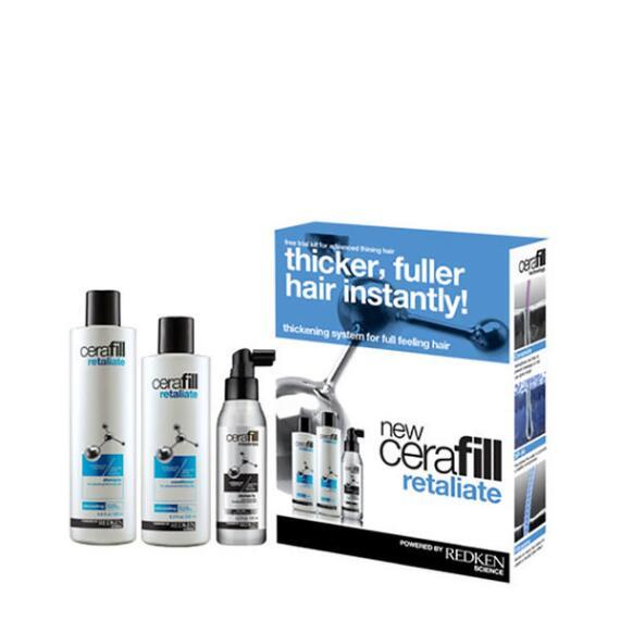 Redken Cerafill Retaliate Hair Thickening System Kit