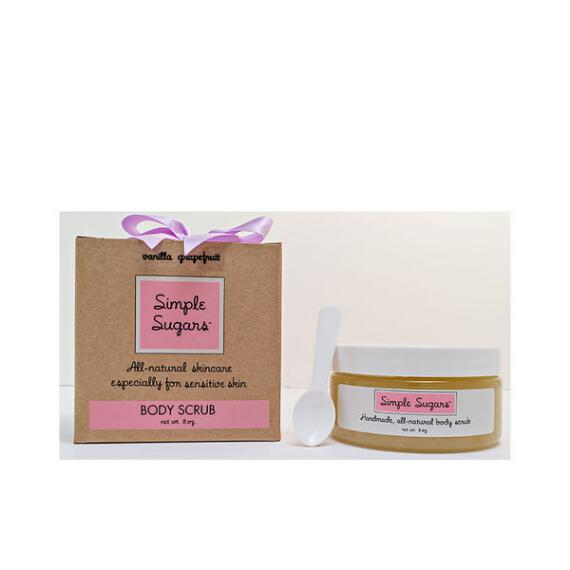 Simple Sugars Vanilla Grapefruit Body Scrub - Beauty Brands Exclusive