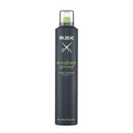 RUSK Working Spray Flexible Hairspray & Salon Hair Products