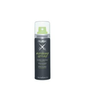 RUSK Working Spray Flexible Hairspray Travel Size & Professional Hairspray