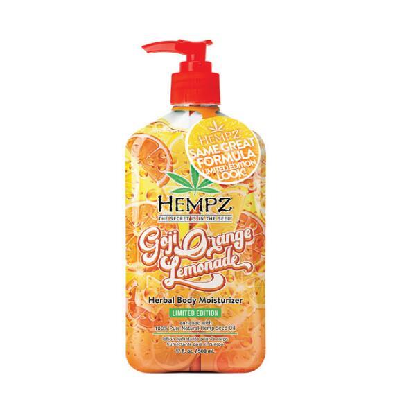 Hempz Goji Orange Lemonade Herbal Moisturizer - Limited Edition