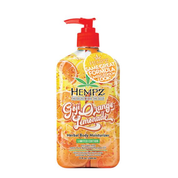 Hempz Goji Orange Lemonade Herbal Moisturizer - Limited Edition