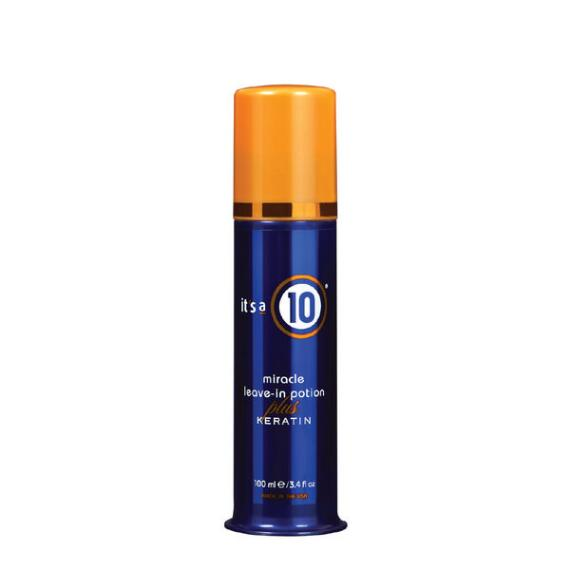 Its a 10 Miracle Leave-In Potion Plus Keratin