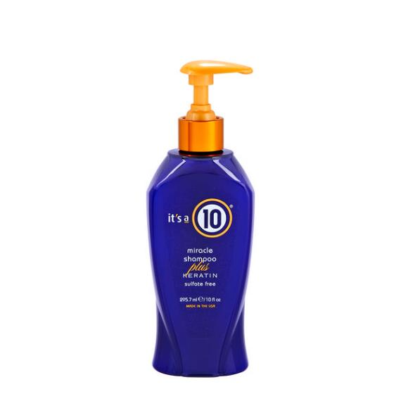 Its a 10 Miracle Shampoo Plus Keratin
