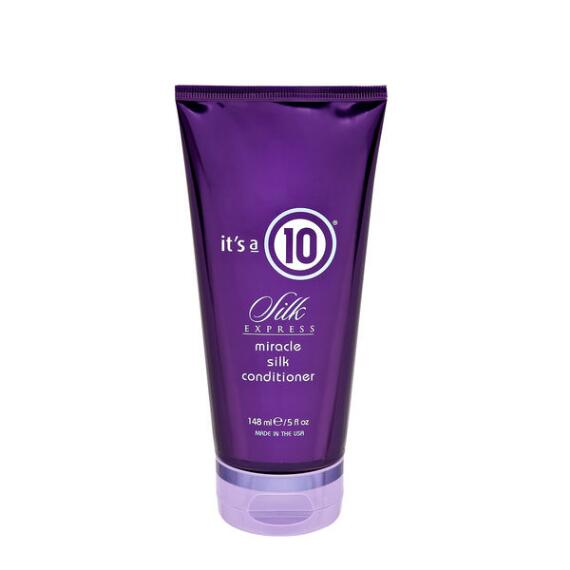 Its a 10 Miracle Silk Express Conditioner