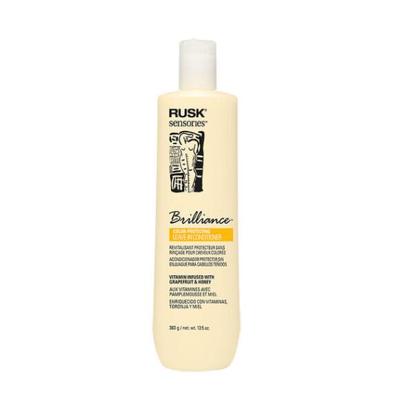 RUSK Brilliance Grapefruit and Honey Color Protecting Leave-In Cream Conditioner