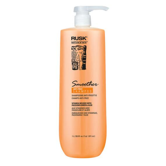 RUSK Smoother Passionflower and Aloe Smoothing Shampoo