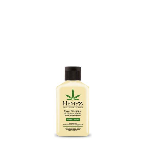 Hempz Sweet Pineapple and Honey Melon Herbal Body Moisturizer Travel Size