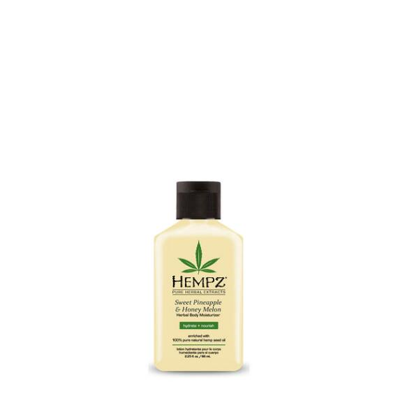 Hempz Sweet Pineapple and Honey Melon Herbal Body Moisturizer Travel Size