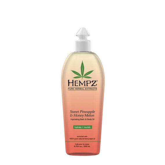 Hempz Sweet Pineapple and Honey Melon Herbal Body Oil