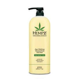 Hempz Age Defying Renewing Herbal Body Wash Liter