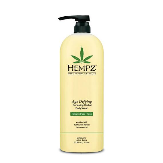 Hempz Age Defying Renewing Herbal Body Wash Liter