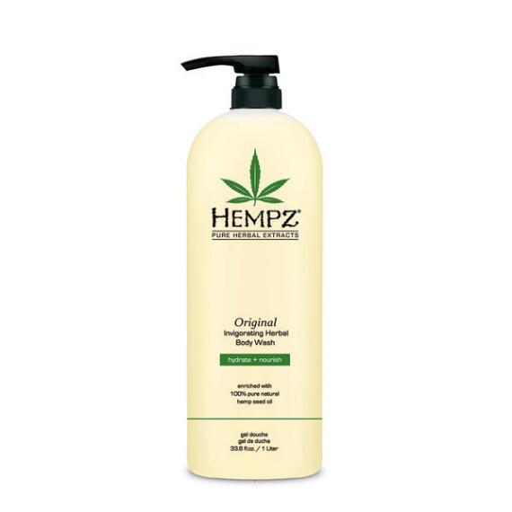 Hempz Original Invigorating Herbal Body Wash Liter