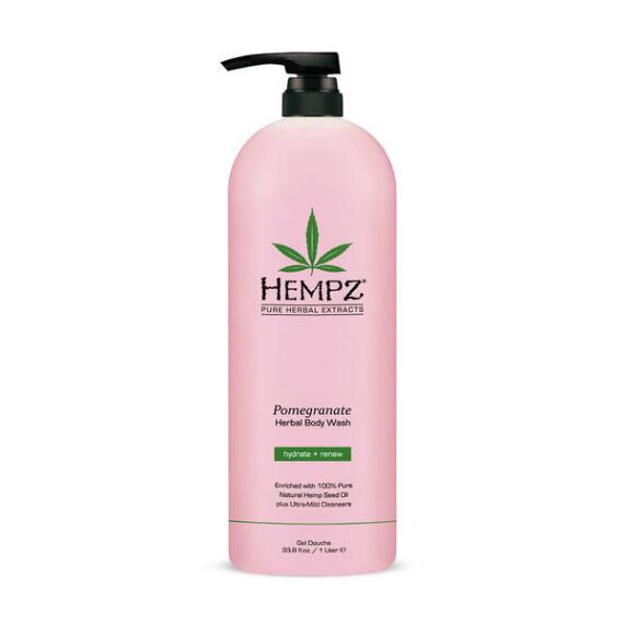 Hempz Pomegranate Moisturizing Herbal Body Wash Liter