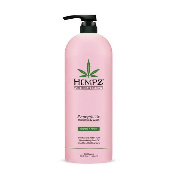 Hempz Pomegranate Moisturizing Herbal Body Wash Liter