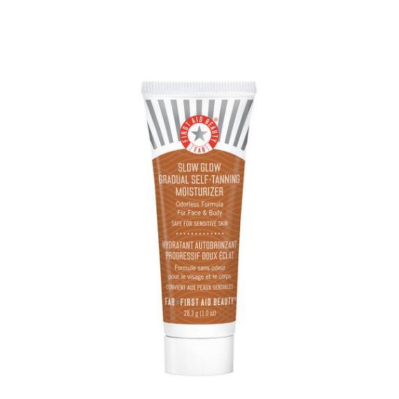 First Aid Beauty Slow Glow Gradual Self-Tanning Moisturizer